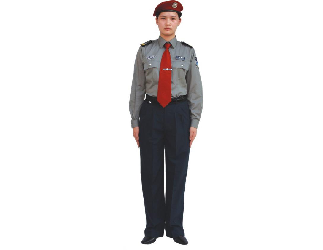 女保安長袖