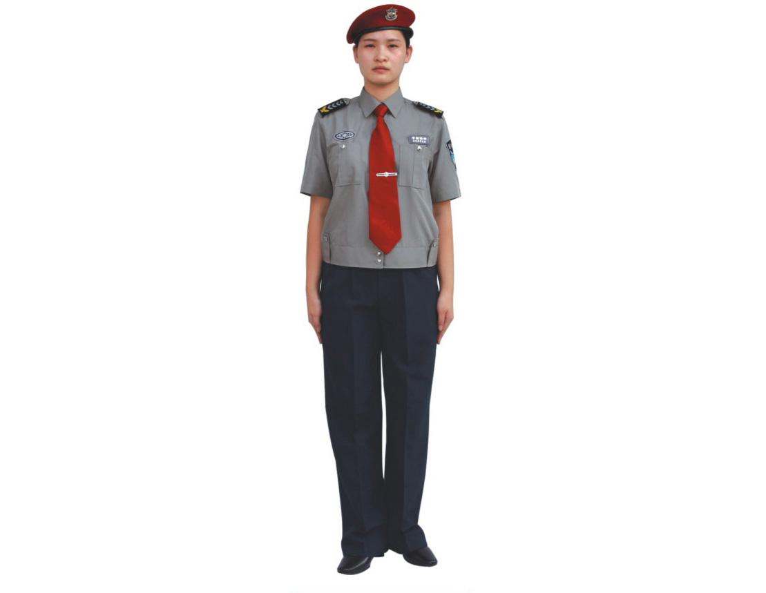 女保安短袖
